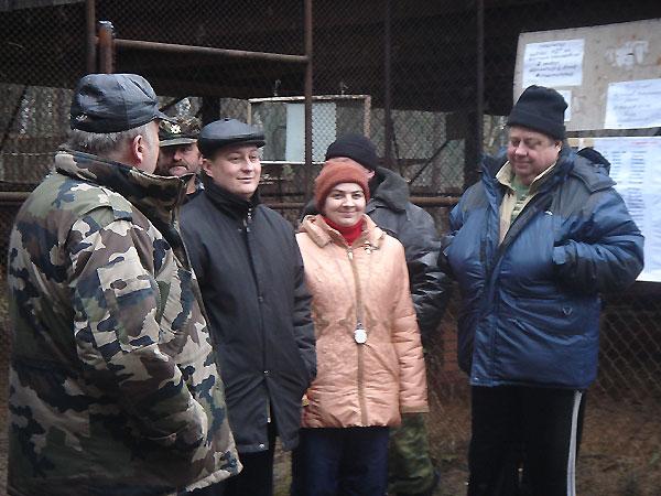 эксперты А.А. Галкин, В.Железнов,А. Крыжова перед началом состязаний